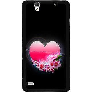Instyler Digital Printed Back Cover For Sony C4 SONYC4DS-10098