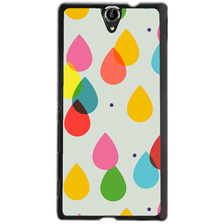 Instyler Digital Printed Back Cover For Sony C5 SONYC5DS-10298