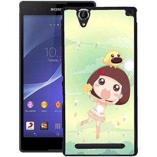 Instyler Digital Printed Back Cover For Sony Xperia T2 SONYT2DS-10228