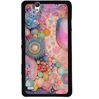 Instyler Digital Printed Back Cover For Sony C4 SONYC4DS-10137