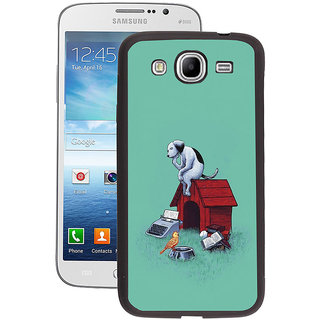 Instyler Digital Printed Back Cover For Samsung Galaxy Mega 5.8 SGM5.8DS-10190