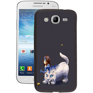 Instyler Digital Printed Back Cover For Samsung Galaxy Mega 5.8 SGM5.8DS-10208