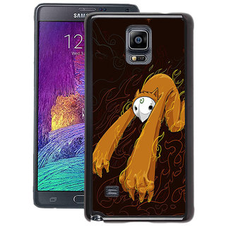 Instyler Digital Printed Back Cover For Samsung Galaxy Note 4 SGN4DS-10178