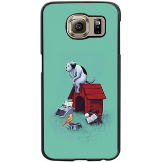 Instyler Digital Printed Back Cover For Samsung Galaxy S6 Edge SGS6EDS-10190