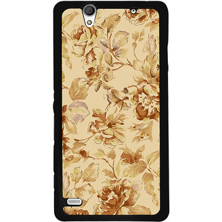 Instyler Digital Printed Back Cover For Sony C4 SONYC4DS-10224