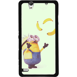 Instyler Digital Printed Back Cover For Sony C4 SONYC4DS-10235