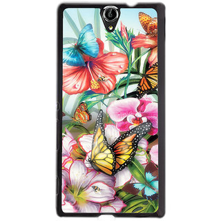 Instyler Digital Printed Back Cover For Sony Xperia -C5 Dual SONYC5DDS-10283