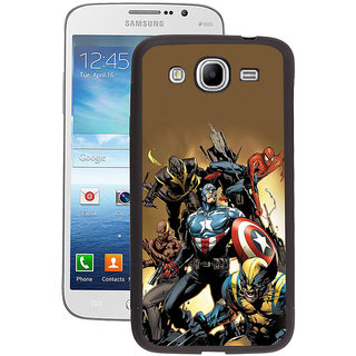 Instyler Digital Printed Back Cover For Samsung Galaxy Mega 5.8 SGM5.8DS-10290