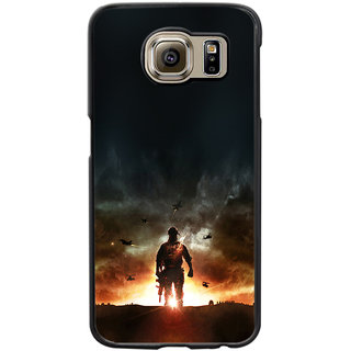 Instyler Digital Printed Back Cover For Samsung Galaxy S6 Edge SGS6EDS-10258