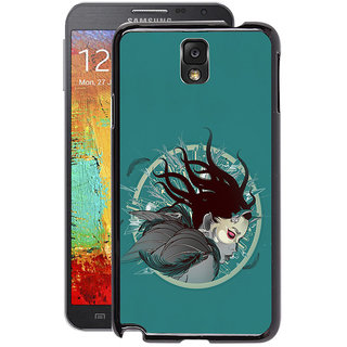 Instyler Digital Printed Back Cover For Samsung Galaxy Note 3 SGN3DS-10195