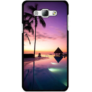 Instyler Digital Printed Back Cover For Samsung Galaxy A8 SGA8DS-10261