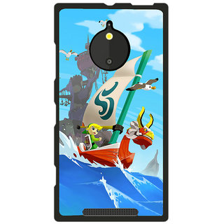 Instyler Digital Printed Back Cover For Nokia Lumia 830 NKLM830DS-10212