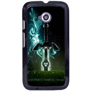 Instyler Digital Printed Back Cover For Moto E2 MOTOE2DS-10274