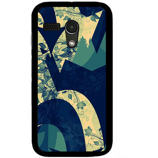 Instyler Digital Printed Back Cover For Moto G MOTOGDS-10209