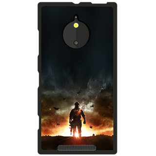 Instyler Digital Printed Back Cover For Nokia Lumia 830 NKLM830DS-10258