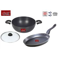 Ok Non-Stick Classic Set Of 2 Pcs KD2+FPT1