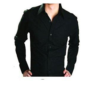 ShopClues: Stylish Black Shirt For Men @238 | Online Shopping ...