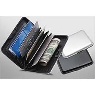 Security Credit Card Holder Aluminium Wallet
