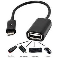 """MICRO USB To FEMALE USB,OTG - ON THE GO CABLE For SAMSUNGâ""""¢GALAXY S3,S2,NOTE"""