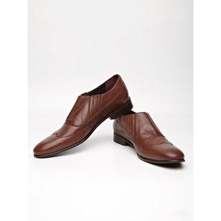 ARROW FOOTWEAR Comfy Leather Slip-ons