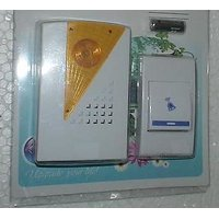 Cordless Door Bell Wireless Battery Operated Remote Calling Bell Door Bell