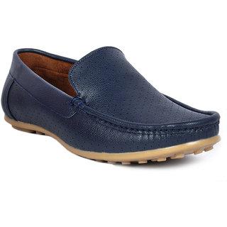 Footlodge Men Blue Slip On Loafers