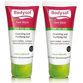 Bodysol Pure Facewash-Set of 2 for Rs. 29 Only