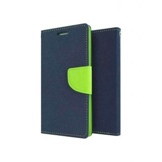 Wallet Flip Cover For  Micromax Canvas HD A116 available at ShopClues for Rs.299