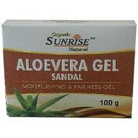 Organic Aloevera Sandal Gel 100(GM)