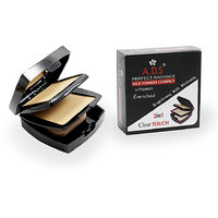 ADS 2 IN 1 FACE COMPACT POWDER Free Liner  Rubber Band -PPUG