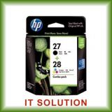 Hp 27 28 Combo Pack Ink Cartridges Black Cyan Magenta Yellow