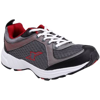 SX0213G SPARX Men Sports (SX-213 Grey and Red)