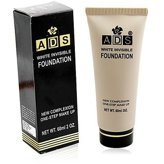 ADS WHITE INVISIBLE FOUNDATION Free Liner  Rubber Band -PHGU
