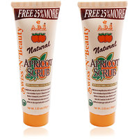 ADS NATURAL APRICOT SCRUB 100g Pack Of 2 Free Liner  Rubber Band -PHSS