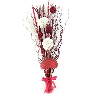Blessings Pack Of 2 Pink Artificial Flowers Bouquet
