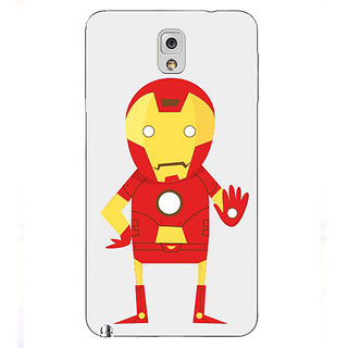 Jugaaduu Superheroes Iron Man Back Cover Case For Samsung Galaxy Note 3 N9000 - J90329