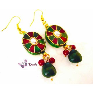 Rituals Meena Kundan Earrings