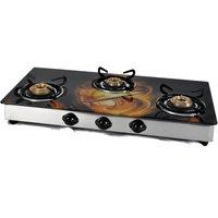 Jindal Designer O Series 3 Burner Cooktop - 2510806