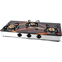Jindal Designer O Series 3 Burner Cooktop