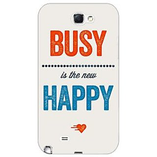 Jugaaduu Quote Back Cover Case For Samsung Galaxy Note 2 N7100 - J81325