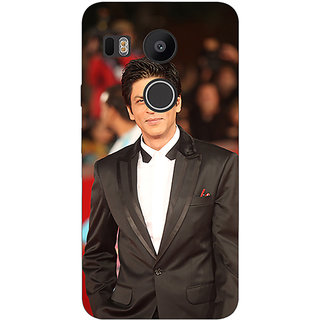 Jugaaduu Bollywood Superstar Shahrukh Khan Back Cover Case For LG Google Nexus 5X - J1010960