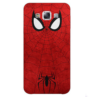 Jugaaduu Superheroes Spider Man Back Cover Case For Samsung A8 - J810340