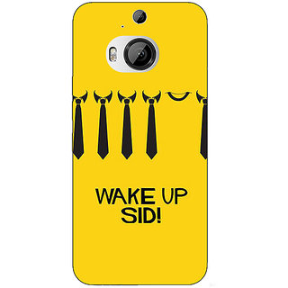 Jugaaduu Bollywood Superstar Wake Up Sid Back Cover Case For HTC M9 Plus - J681096