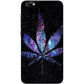 Jugaaduu Weed Marijuana Back Cover Case For Huwaei Honor 4X - J690494
