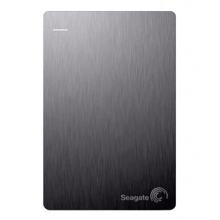 Seagate 1 TB Backup Plus Slim External Hard Disk (Silver)