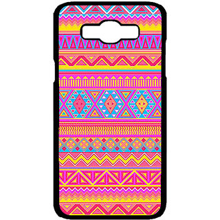 Jugaaduu Aztec Girly Tribal Back Cover Case For Samsung Galaxy J7 - J700072