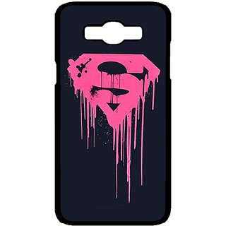 Jugaaduu Superheroes Superman Back Cover Case For Samsung Galaxy J7 - J700379