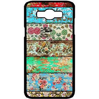 Jugaaduu Floral Pattern  Back Cover Case For Samsung Galaxy J7 - J700671