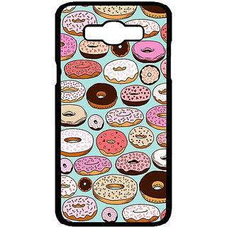 Jugaaduu Donut Love Back Cover Case For Samsung Galaxy J7 - J700698