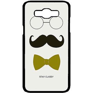 Jugaaduu Mustache Back Cover Case For Samsung Galaxy J7 - J700757